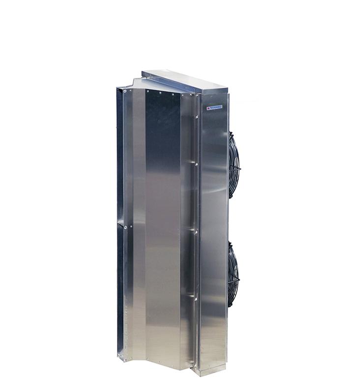 Тепловая завеса КЭВ-18П4050E нерж. - 18 кВт, (длина 1.5 м) для проемов высотой от 3-5 м.