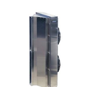 Тепловая завеса КЭВ-12П4060E нерж. - 12 кВт, (длина 2.0 м) для проемов высотой от 3-5 м.