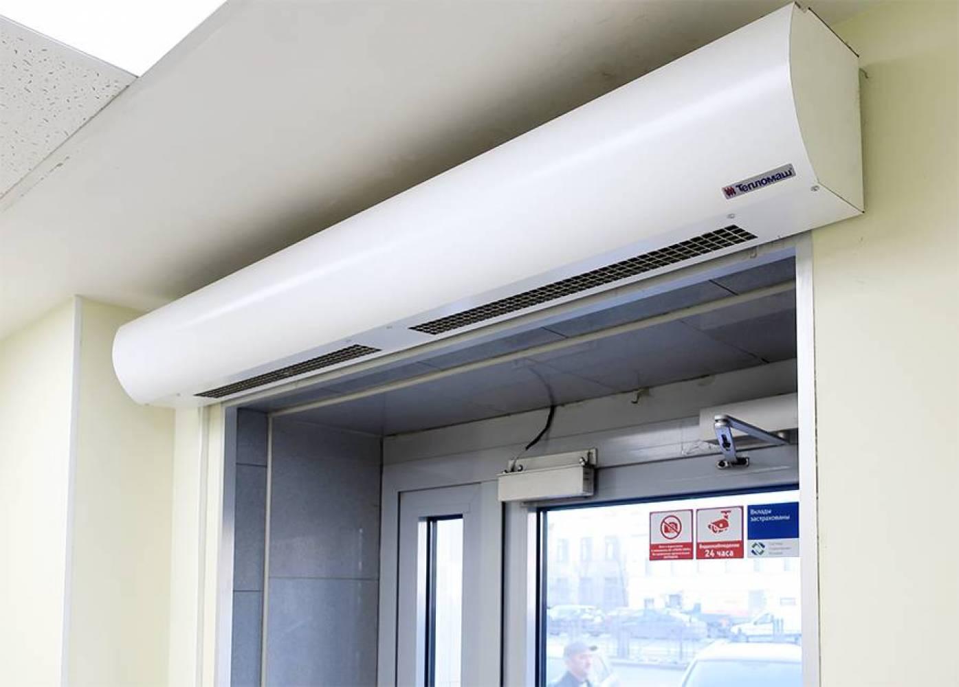 Тепловая завеса КЭВ-9П2022Е - 9 кВт (длина 1,5 м.), для проемов высотой от 2-2,5 м.