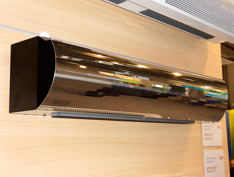 Тепловая завеса КЭВ-9П2013E - 9 кВт (длина 1 м.), для проемов высотой от 2-2,5 м.
